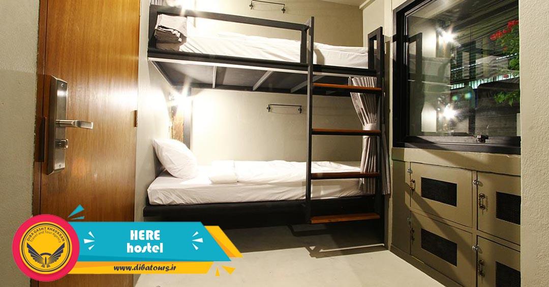 خوابگاه هاستل هیر در بانکوک تایلند