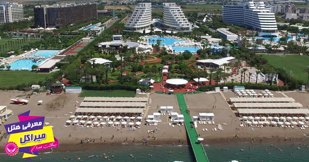 نمای هتل میراکل آنتالیا